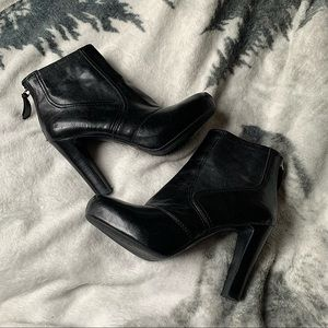 FRANCO SARTO | Leather booties pump style